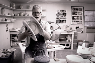 Porcelain tips for wheel pottery by David Voorhees