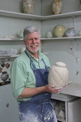 Porcelain tips for wheel pottery online workshop by David Voorhees
